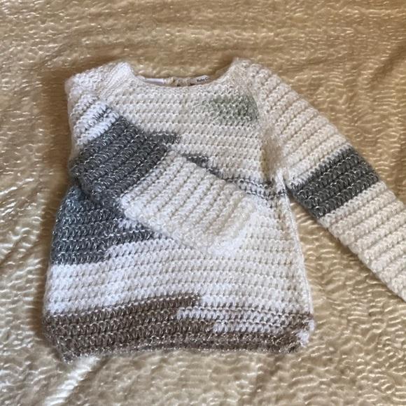 12d2f73e Zara Shirts & Tops   Baby Girl Knit Sweater 1824 Months   Poshmark